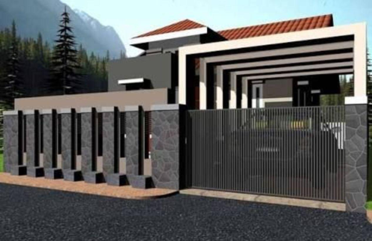 49 Gorgeous Modern Fence Design Ideas To Enhance Your ...