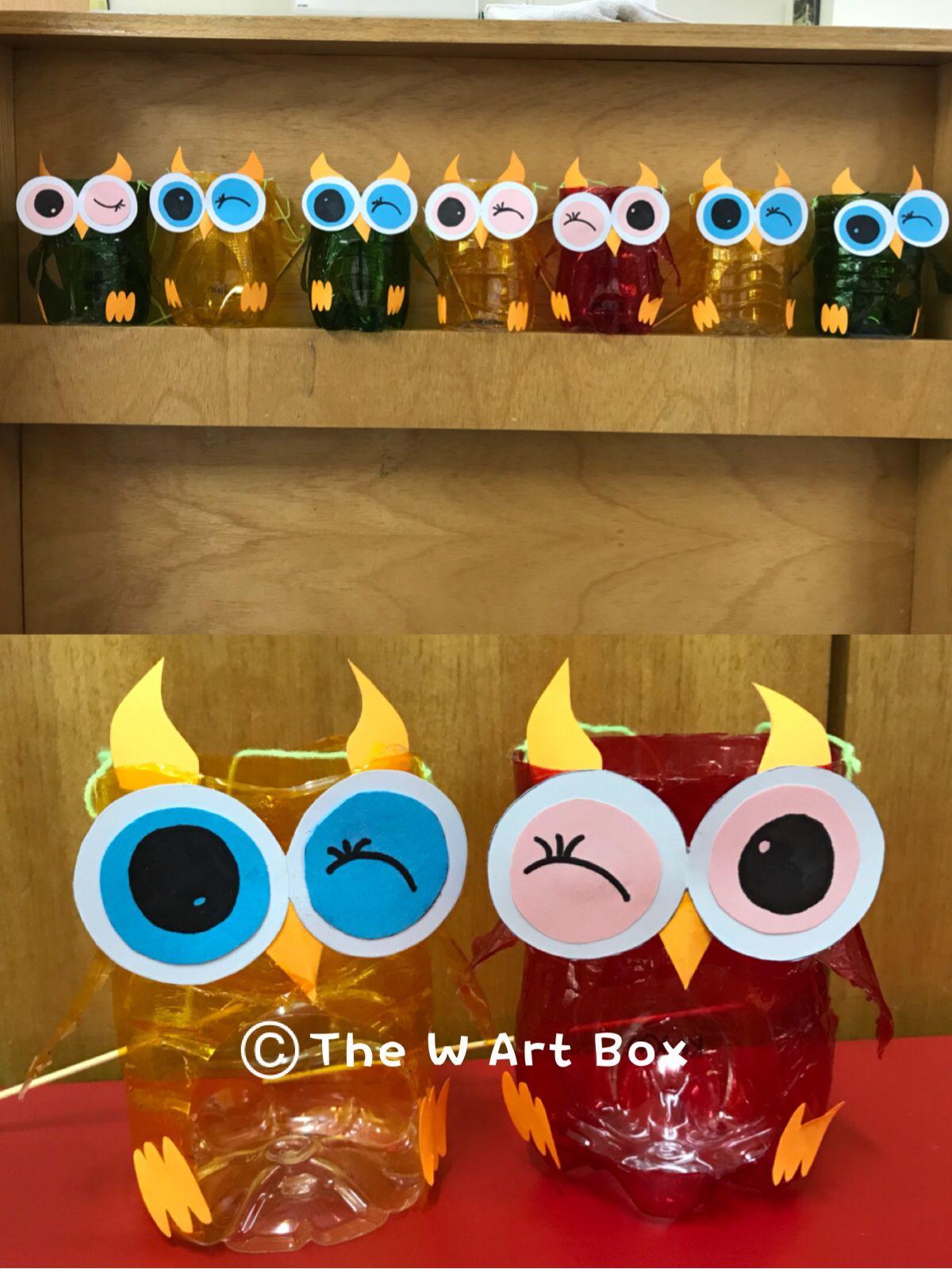 Mid Autumn Festival Craft Owl Lantern
