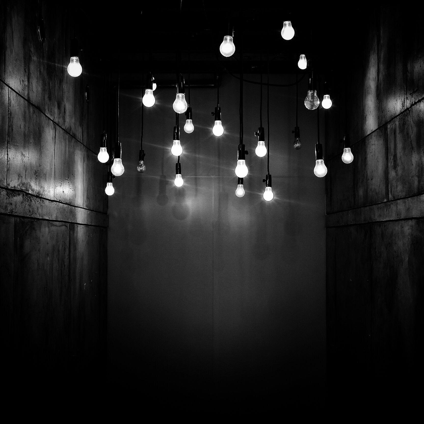 lights #blackandwhite | Blue aesthetic dark, Light in the ...