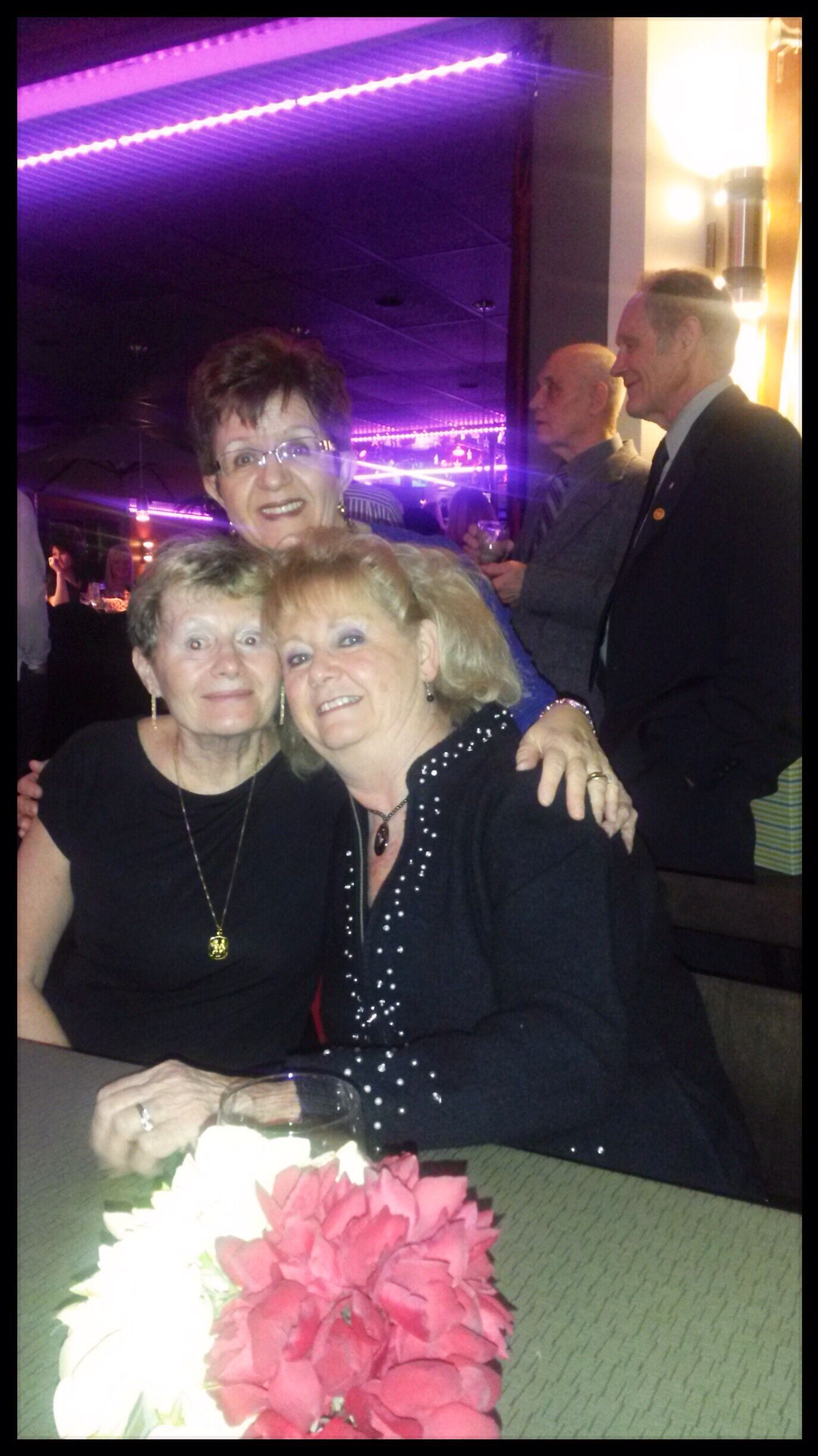 The Three Besties - Candy, Ding & Susan at Klaus's birthday.