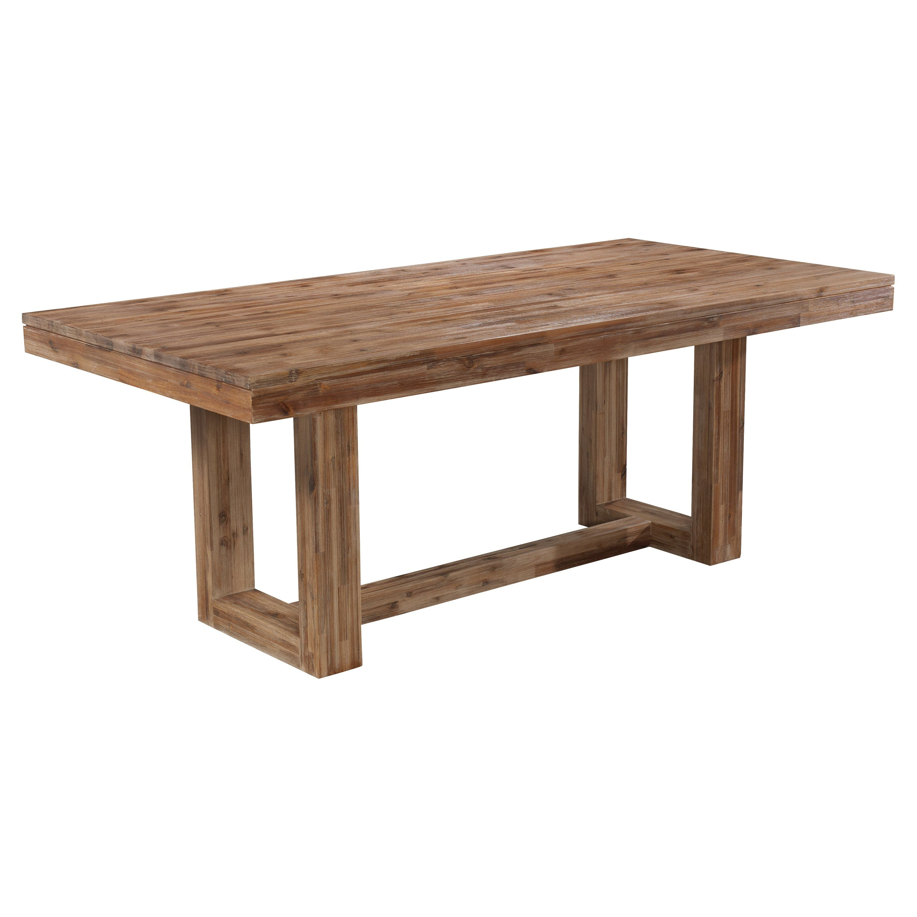 Cresent Fine Furniture Waverly Dining Table With Modern Design Elements Beautifully Combining With Trestle Dining Tables Dining Table In Kitchen Dining Table