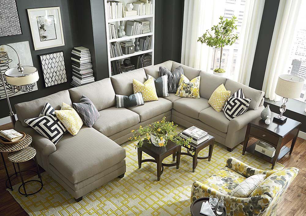 Cu 2 U Shaped Sectional Living Room Home Decor