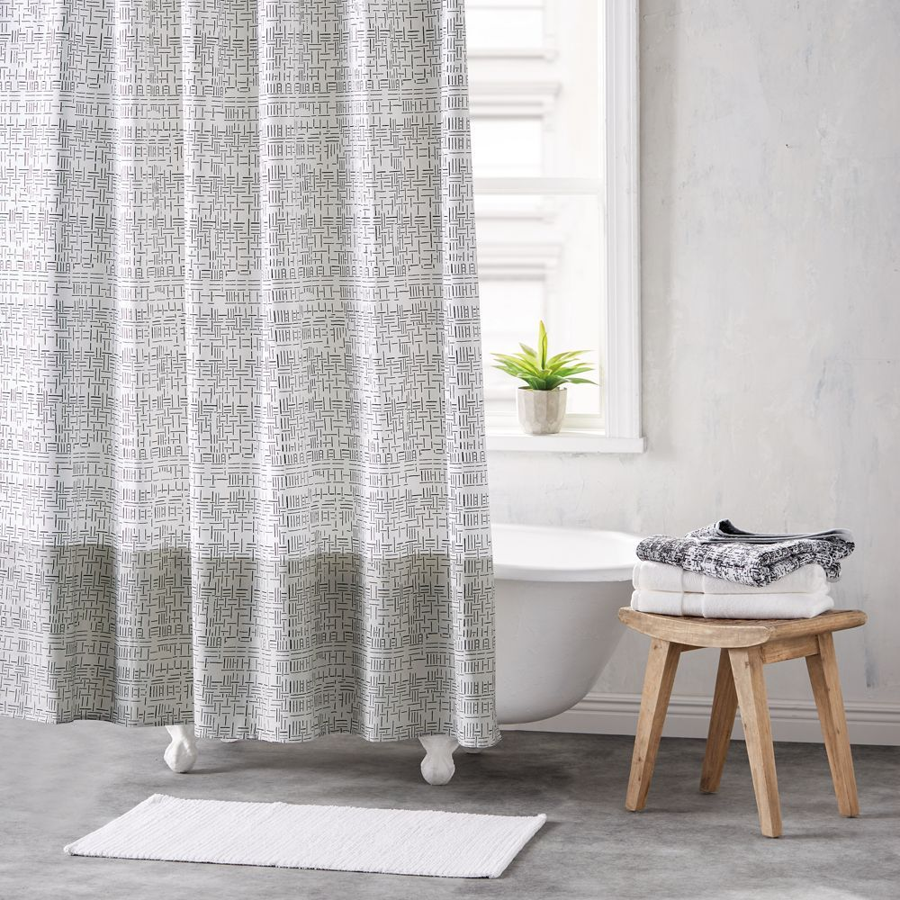 Dkny Crossway Shower Curtain Shower Curtain Rods Curtains Shower