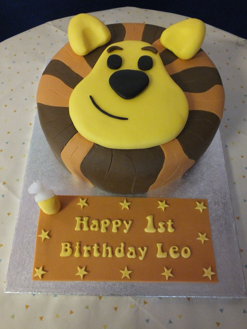 Raa Raa The Noisy Lion Birthday Cake For My Little Girl
