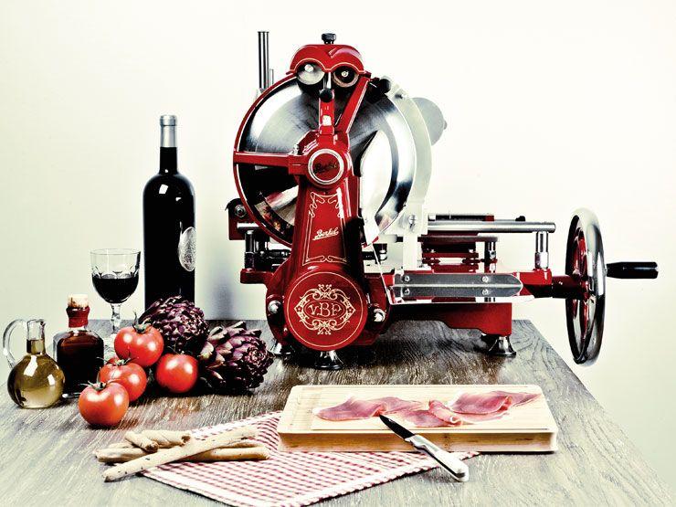 Trancheuse jambon manuelle et m canique volant berkel objets pinterest m canique - Machine a couper le jambon berkel ...