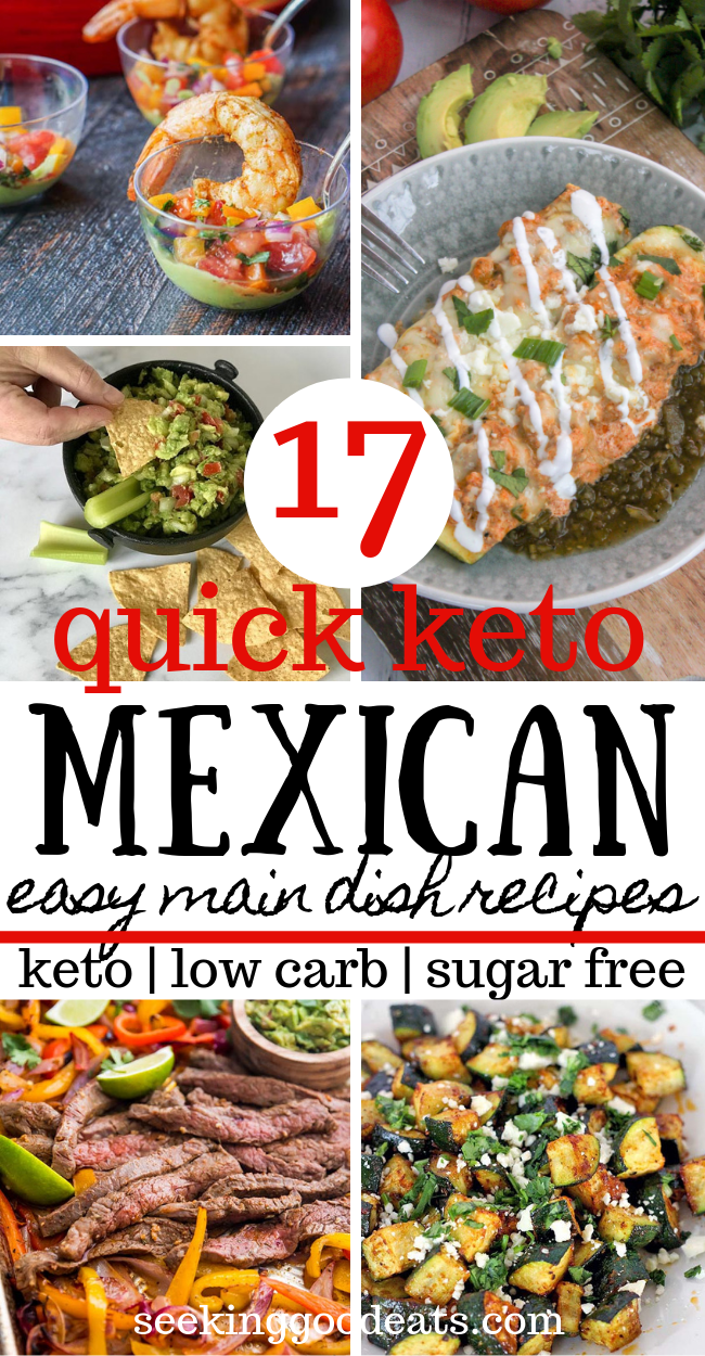 Photo of 17 Tasty Keto Mexican Recipes You'll Love