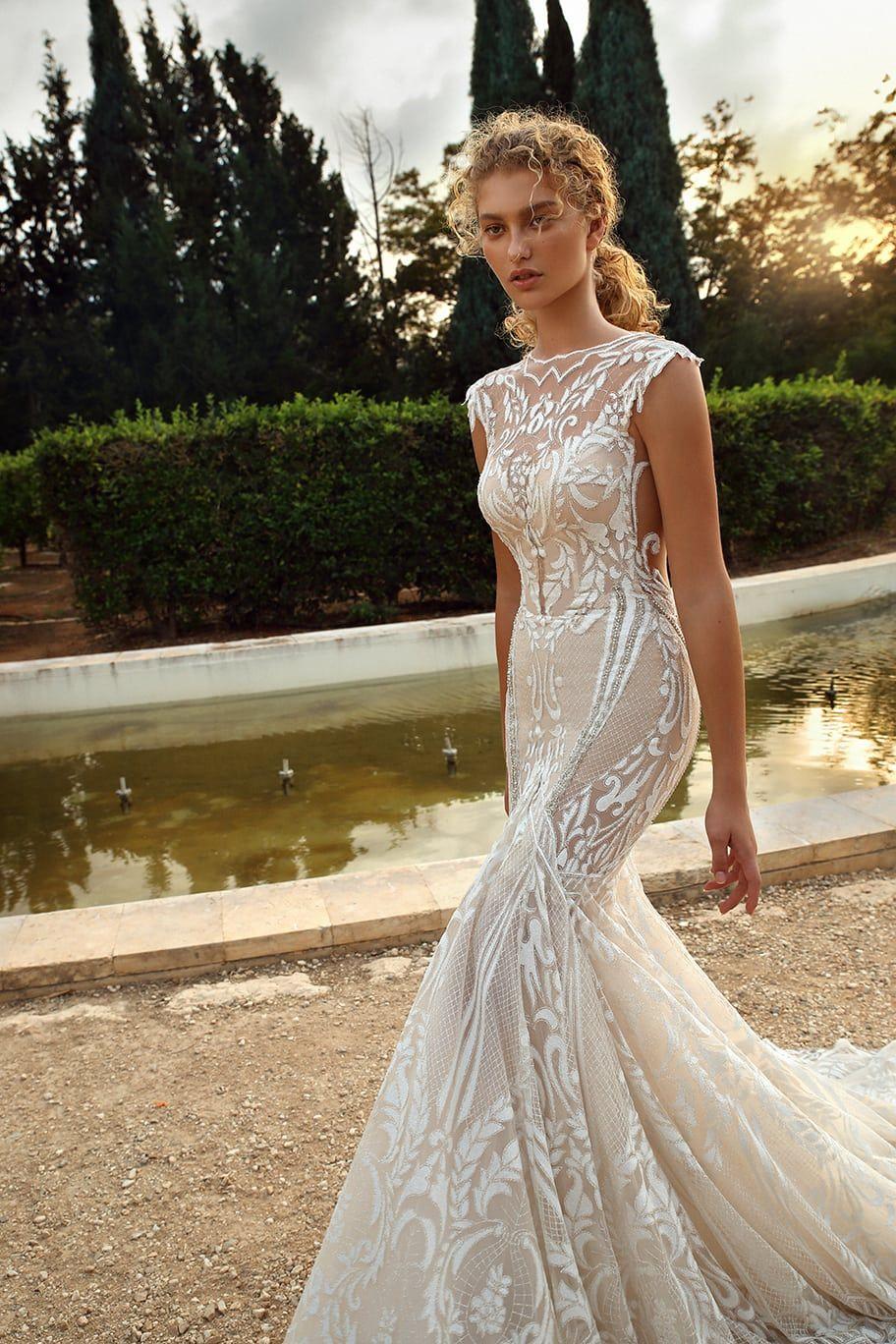 34++ High neck wedding dress information