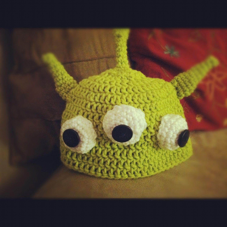 Toy Story 3-Eyed Alien Hat | Birthday Party | Pinterest