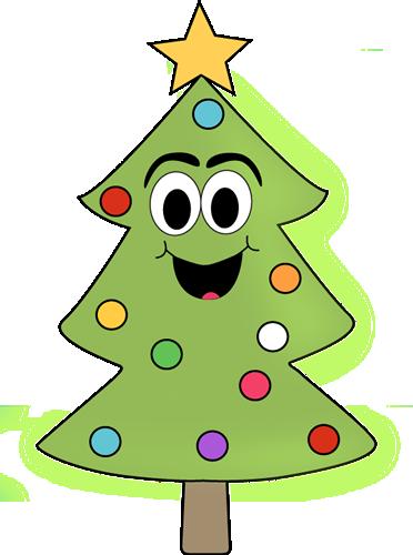 Cartoon Christmas Tree Clip Art Cartoon Christmas Tree Image Cartoon Christmas Tree Christmas Tree Images Cartoon Clip Art