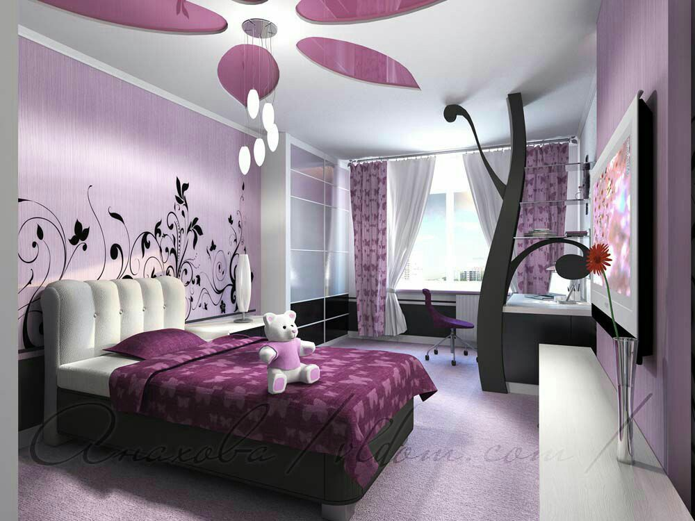 Pin By Yad On Interer Bedroom Interior Girl Bedroom Decor Bedroom Design