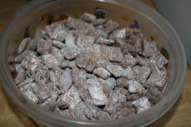 Puppy Chow | F) Sweet Foods | Michigan facts, North dakota