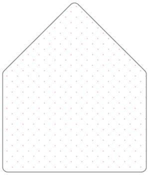 Polkadot Pink A Envelope Liner For A Envelopes  Pk At