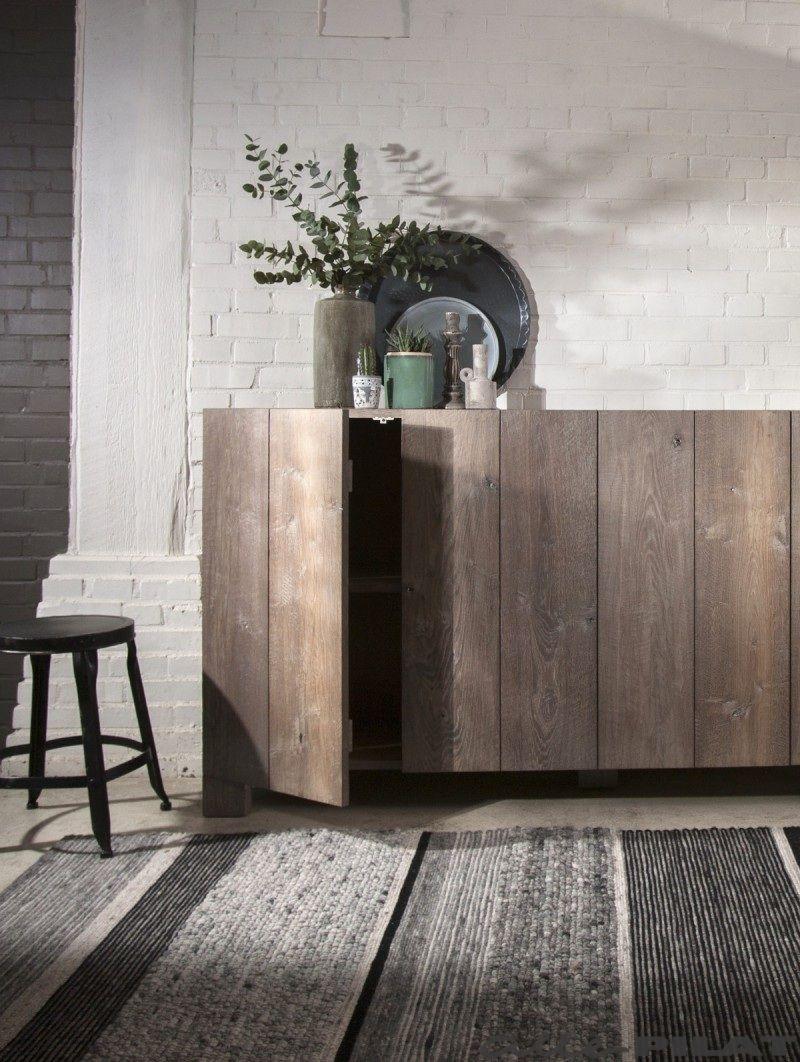 Esszimmermöbel design lage eiken kast fjouwer  house