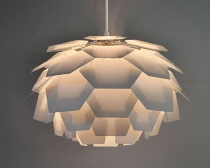 Modern white designer artichoke style ceiling pendant light lamp modern white designer artichoke style ceiling pendant light lamp shade lights aloadofball Image collections