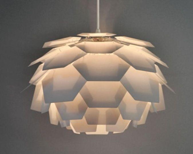 Superbe Modern White Designer Artichoke Style Ceiling Pendant Light Lamp Shade  Lights | EBay