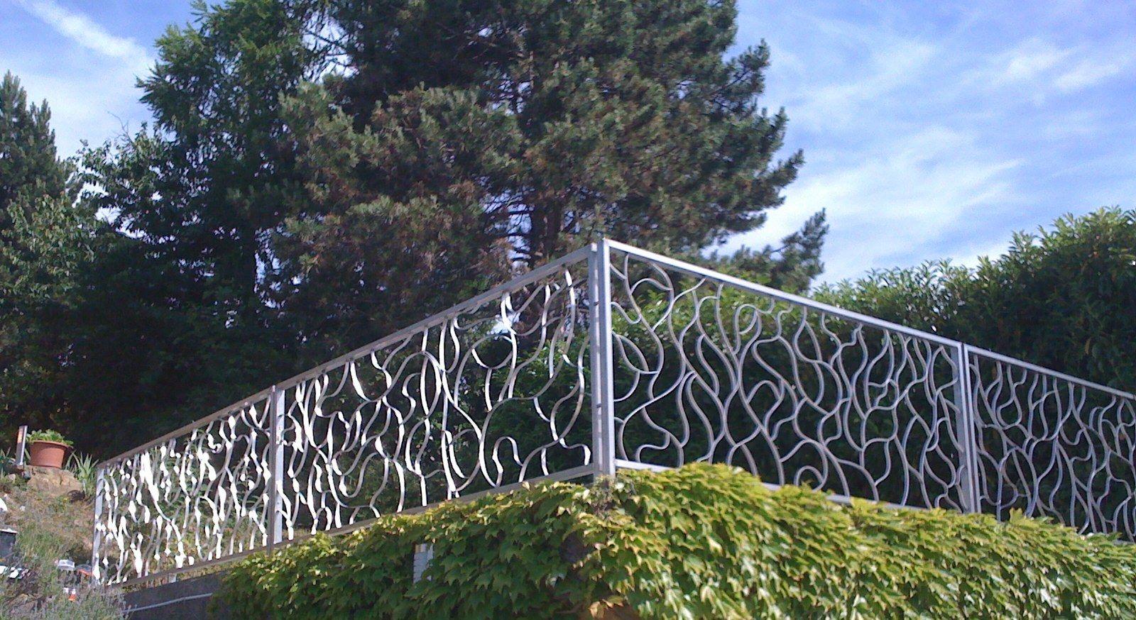 Design : Cloture De Jardin Castorama   Lyon 11, Cloture Pvc Gris  Anthracite, Cloture