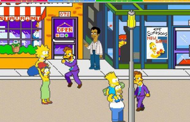 The 30 Best Arcade Video Games of the 1990sThe Simpsons Arcade Game