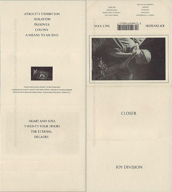 Peter Saville Sleeve Design Sleeves 1987 1990 Peter Saville