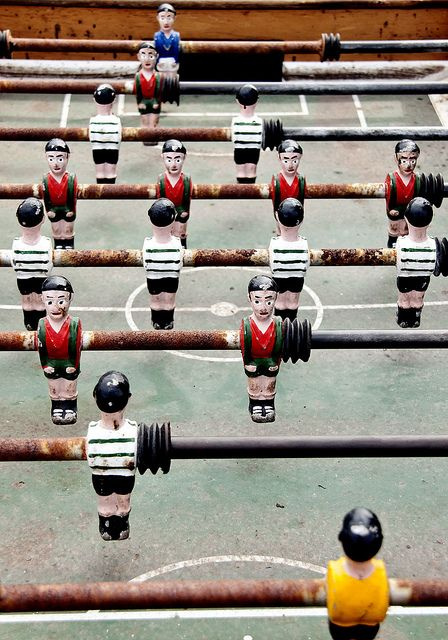 Ease those half time nerves with a game of table football. Or failing that & Table Soccer | Football art and West ham