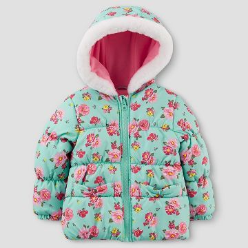 Simple Joys by Carters Girls Puffer Jacket