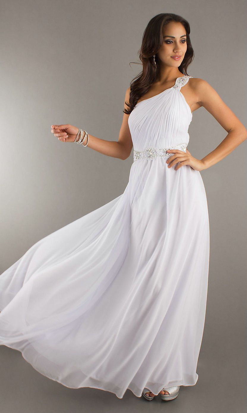 White Prom Dresses For Cheap - Formal Dresses