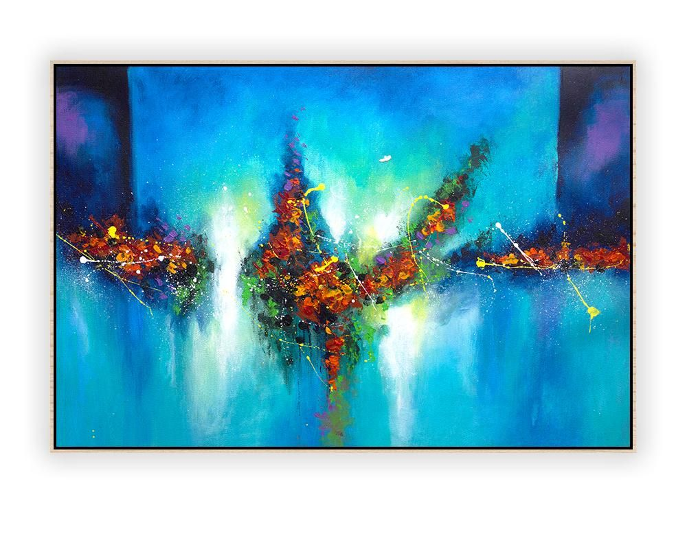 Badezimmer Gemälde Large Abstract Wall Art Horizontal La0073e Abstract