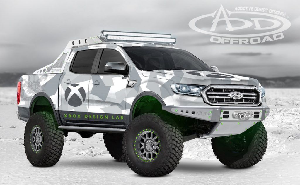 2019 Ford Ranger 4x4 Build Your Own Ranger Raptor Sema 2018 In