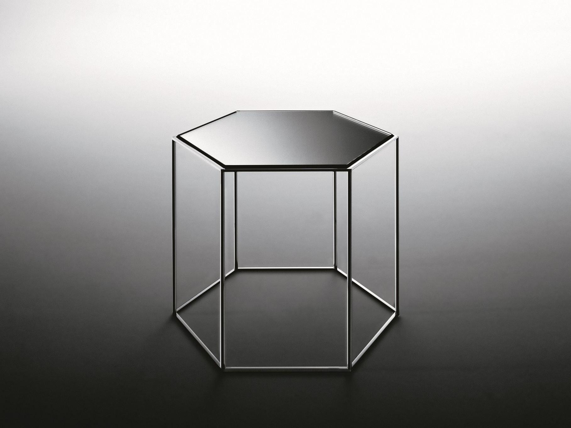 Hexagon coffee tables by tokujin yoshioka for desalto