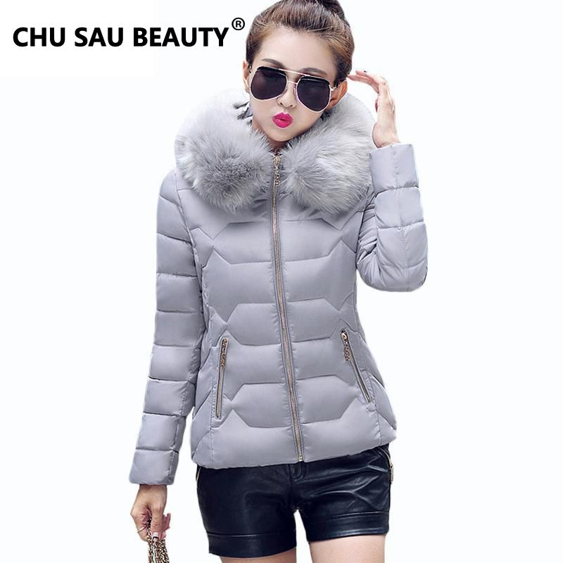 Womens Winter Jackets And Coats 2017 Womens Parkas Thick Warm Faux ...