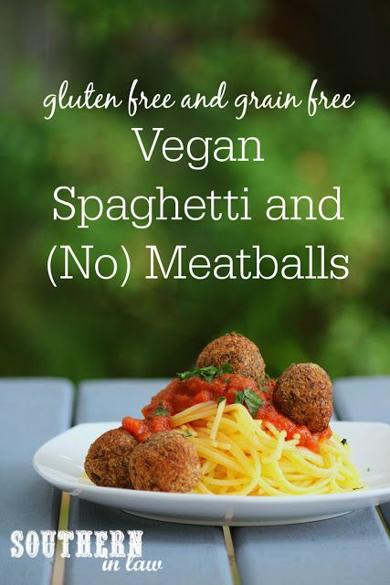 Vegane Spaghetti und Fleischbällchen Rezept - fettarm, kohlenhydratarm, körnerfrei, glutenfrei, nussfrei, sojafrei, vegan, fleischfrei, fleischfrei, vegetarisch