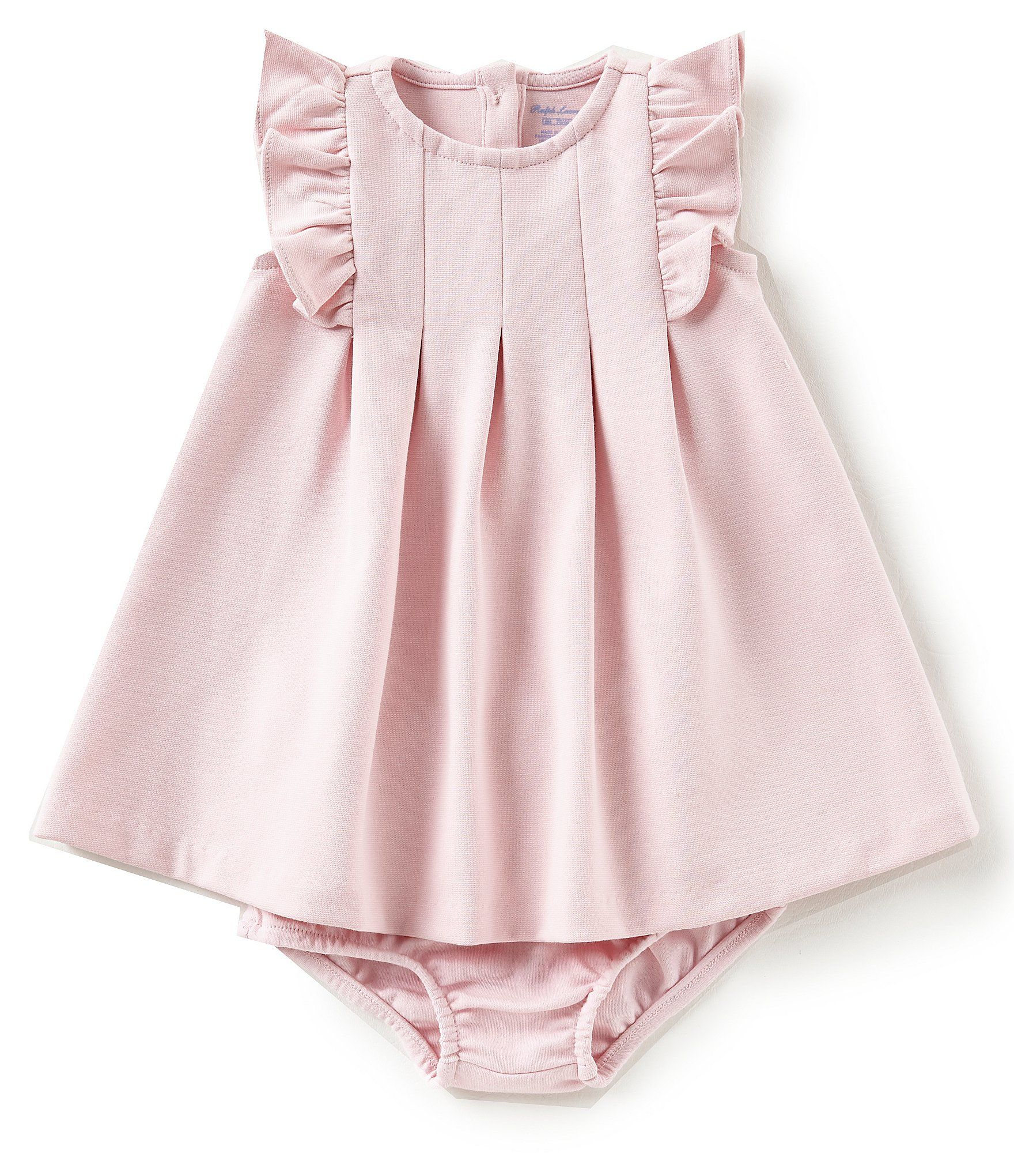Ralph Lauren Childrenswear Baby Girls 3 24 Months Flutter Sleeve