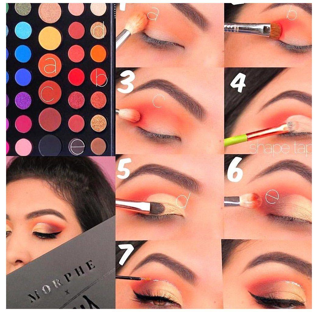 james charles makeup palette looks tutorial