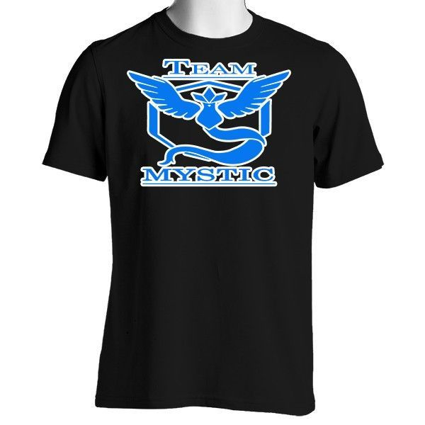 Pokemon Go Team Mystic: Blue Unisex Crewneck T-Shirt