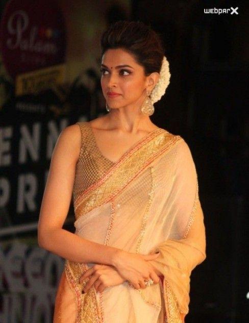 Deepika Padukone in Saree | Deepika padukone saree ...