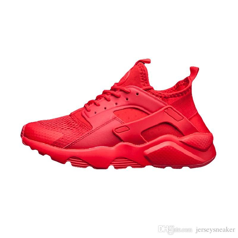 Huarache 4.0 1.0 Classical Triple White Black red men women Huarache Shoes  Huaraches sports Sneakers Running Shoes size eur 36-45 62a39fa57