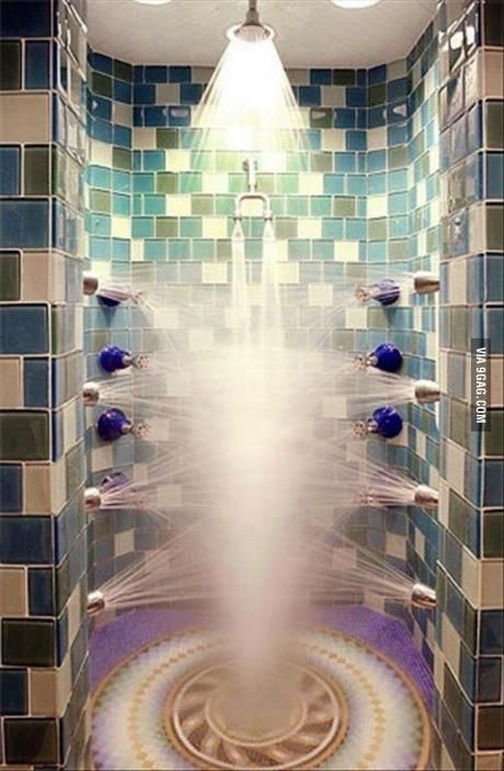 The Ultimate Shower Amazing Showers Beautiful Bathrooms My