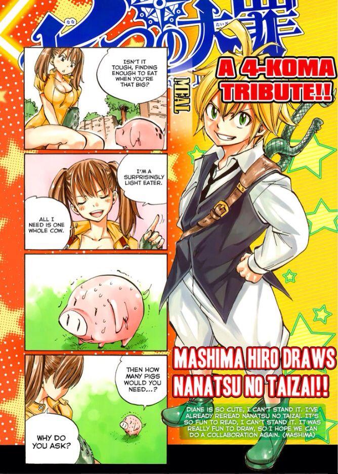 Hiro Mashima (creator of Fairy Tail) draws Nanatsu no Taizai!