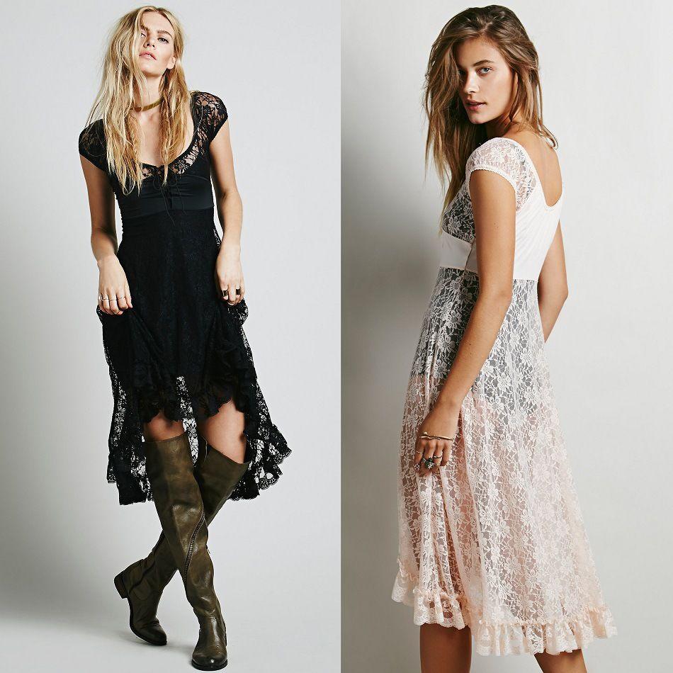 Women summer v neck short sleeve bohemian brand asymmetrical lace one-piece dress Boho sexy cutout lace dresses vestidos gown