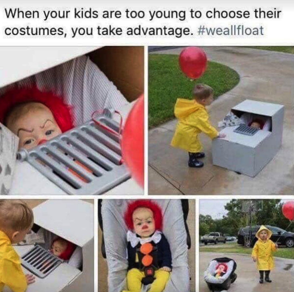 Well Babies Are Scary Lol Funny Rofl Memes Lmao Hilarious Cute Baby Halloween Costumes Halloween Costumes For Kids Baby Halloween