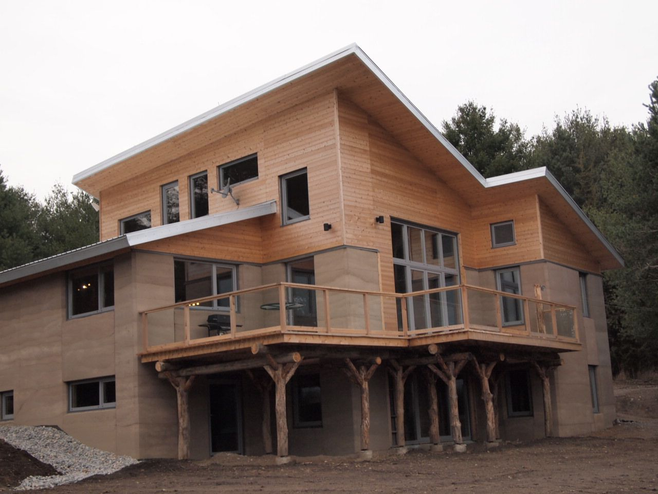 Aerecura Rammed Earth Home Revisited Alternative Homes - Earth home designs