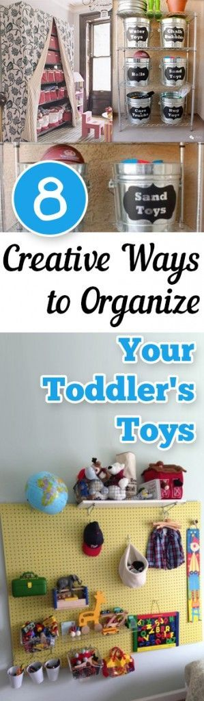 8 Creative Ways to Organize Your Toddlers Toys
