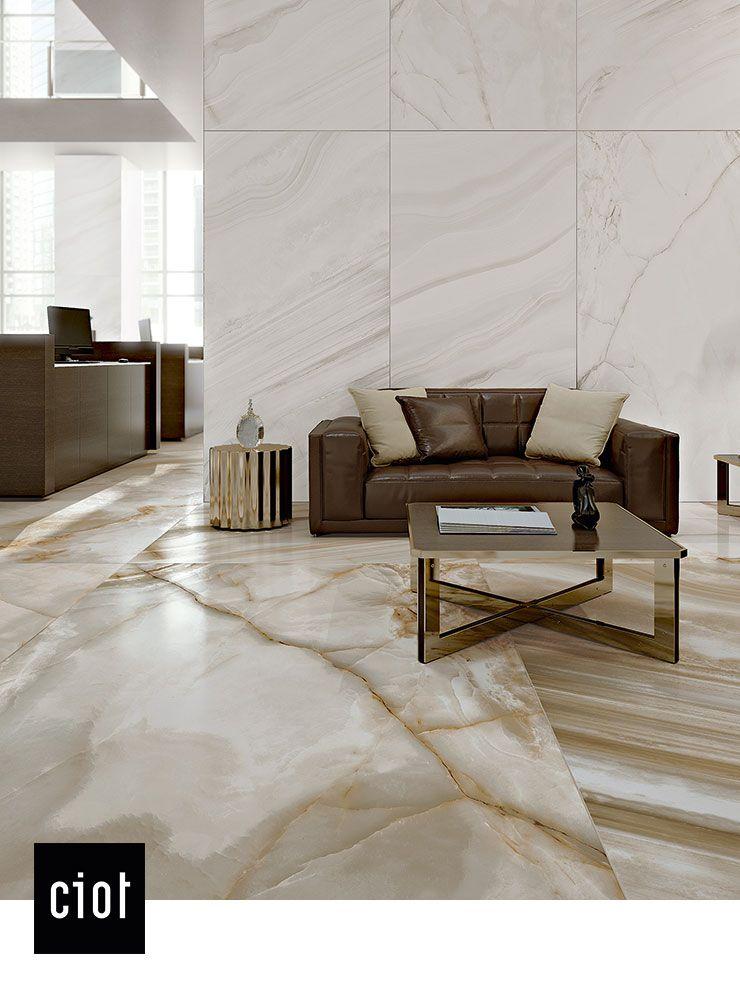 Home Decor Tile Stores Magnum Marmi  Alabastro Bamboo & Alabastro Madre Perla #porcelain