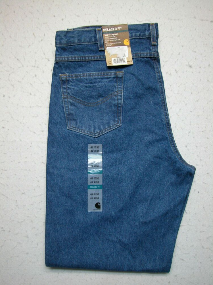 NWT Carhartt 42X36 B17 DST Relaxed Fit Jeans Tall Men's