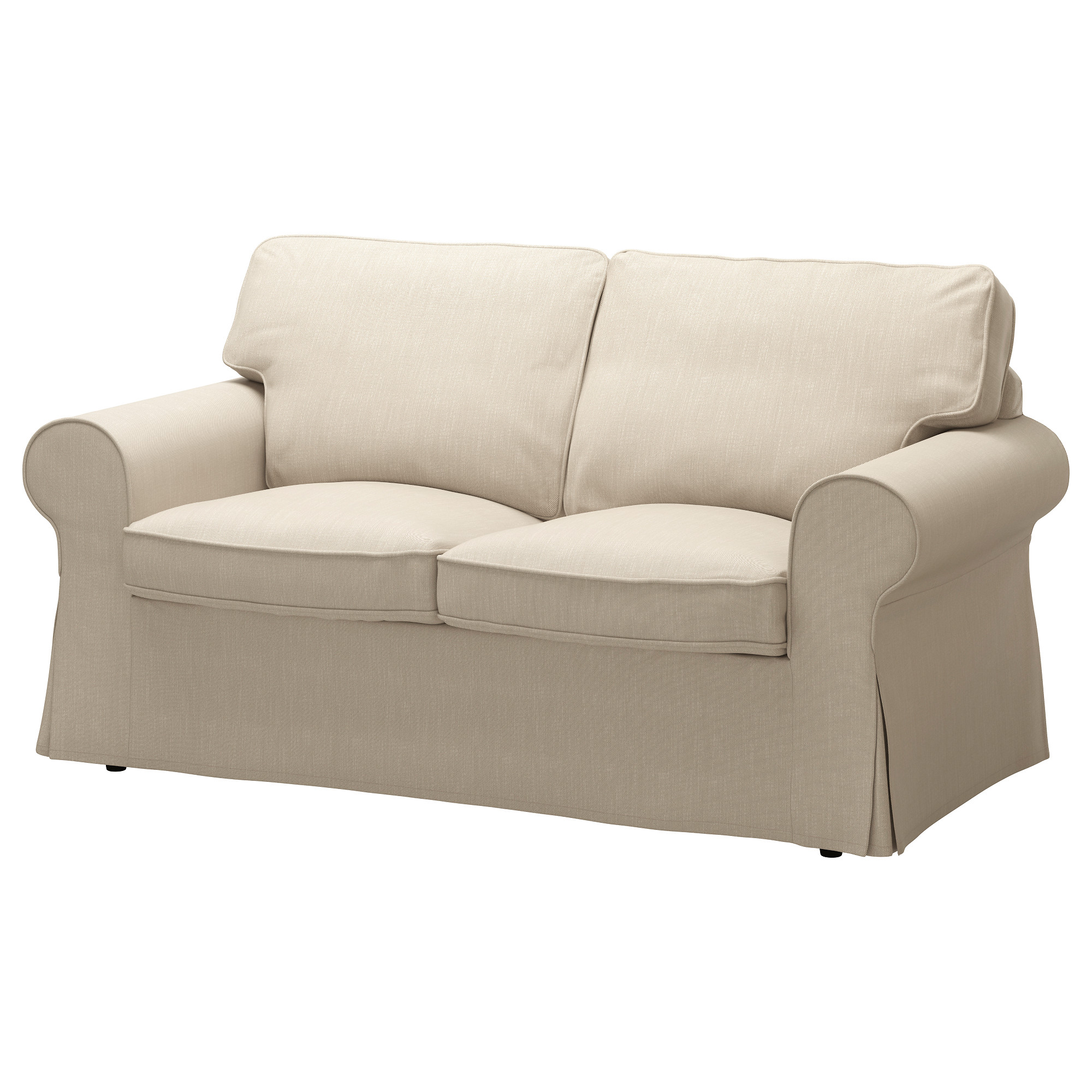 ikea ektorp sofa cover EKTORP Loveseat cover, Nordvalla dark beige | Dark beige, Loveseat  ikea ektorp sofa cover