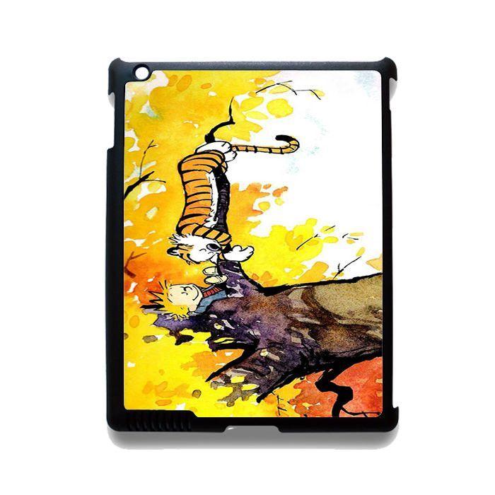 Calvin And Hobbes In Tree TATUM-2246 Apple Phonecase Cover For Ipad 2/3/4, Ipad Mini 2/3/4, Ipad Air, Ipad Air 2