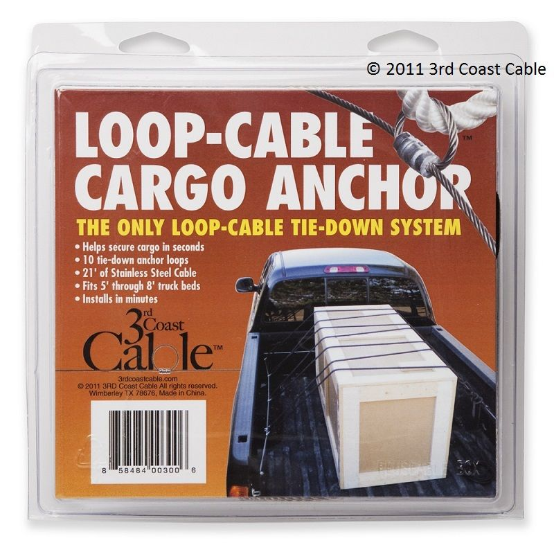 Available from 3rd Coast Cable, eBay & Amazon. Truck bed