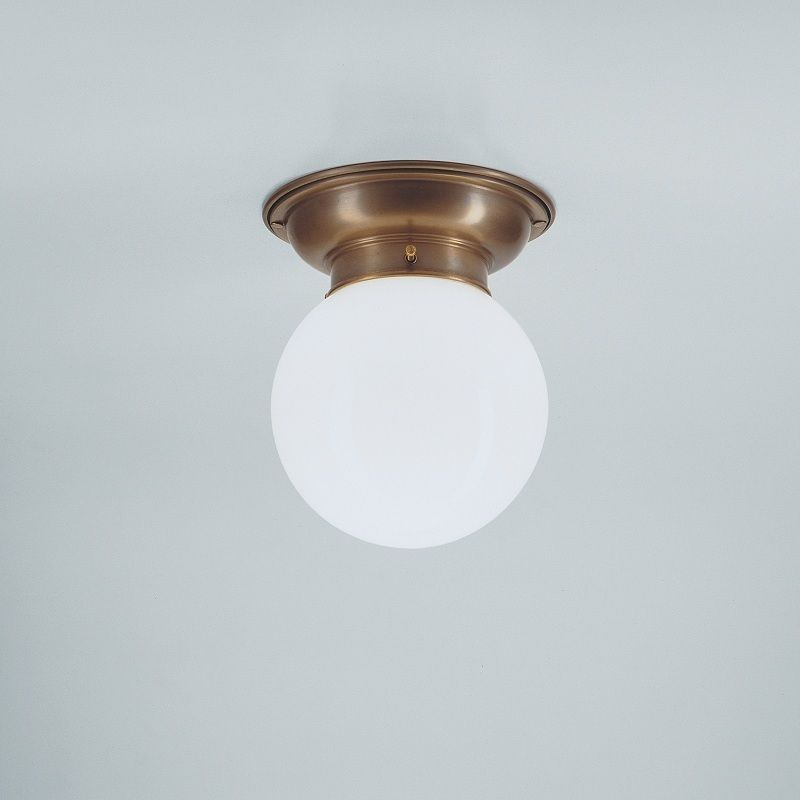Deckenleuchte mit Opalglaskugel 16 cm - Modell D60-115op B von - deckenleuchte für küche