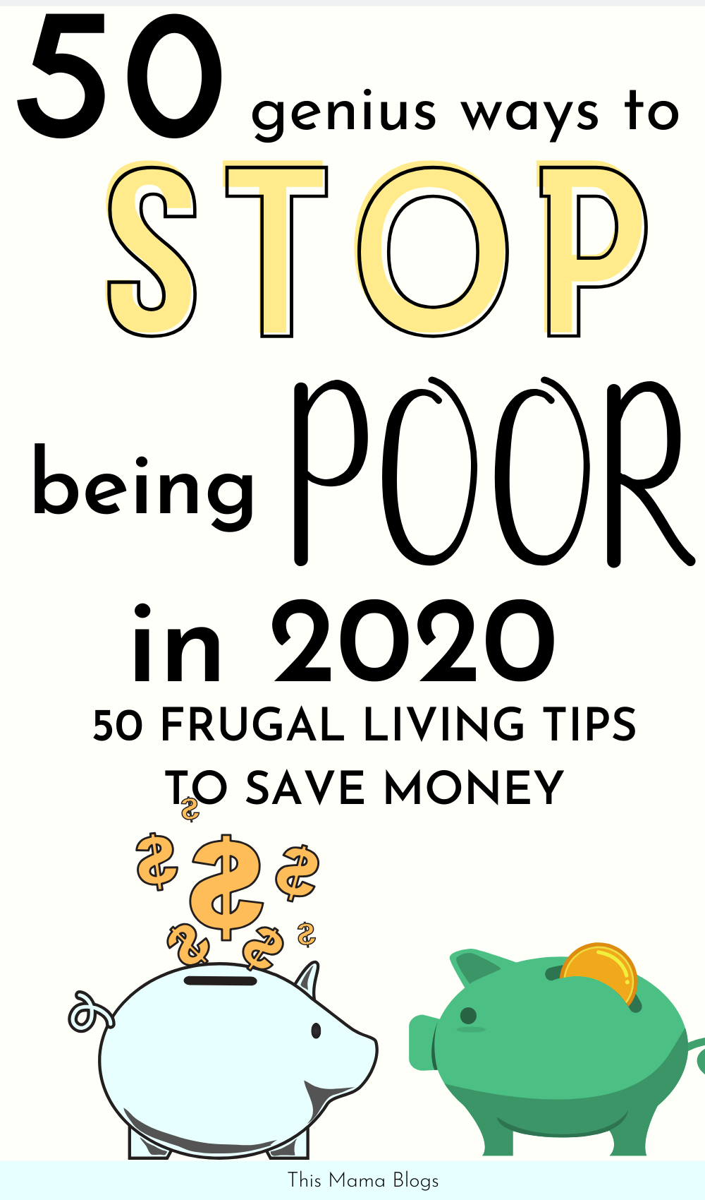 Looking for practical frugal living tips that work? Looking for ways to save money without having to give up on many things? Try these genius money saving tips to help you stop being poor in 2020! Frugal living is not about not spending money. It's about being resourceful so you can focus your money on important things that matter most to you. In this post, I will show you a few frugal living tips and tricks that will help you save a lot of money and transform your life in 2020