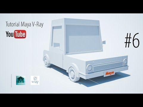 Curso de Maya 3D #6 - Serie Carro Cartoon - Luiz Henrique - YouTube