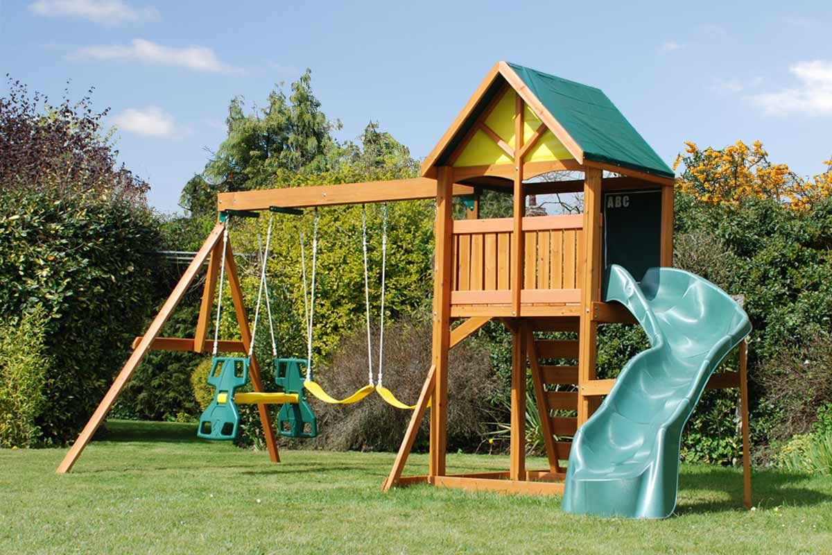 Wooden Swing Sets Ideas